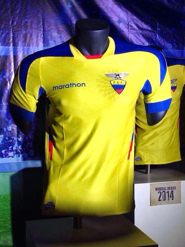 La nueva camisa de la seleccion.