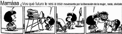 Felices 50 Mafalda.