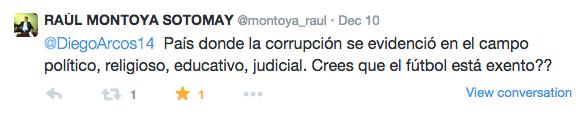 Los delirios de persecucion en algunos hinchas del futbol ecuatoriano.