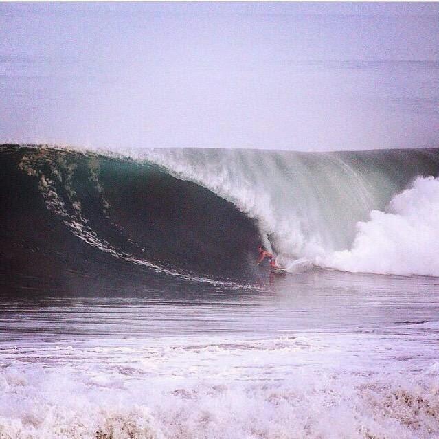 Unos días de olas fascinantes