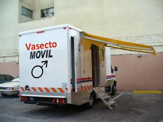 El Vasectomovil