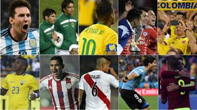 Cuatro fechas en eliminatorias sudamericanas