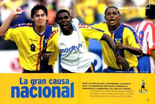 Hace 14 años así veían el fútbol de Ecuador