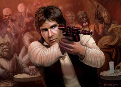 ¿Por qué cae bien Han Solo?