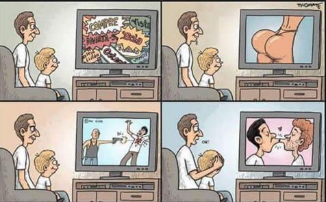 El censor o guía de hoy de lo que ves en TV