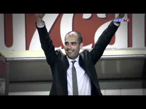 Barcelona le agradece a Pep Guardiola