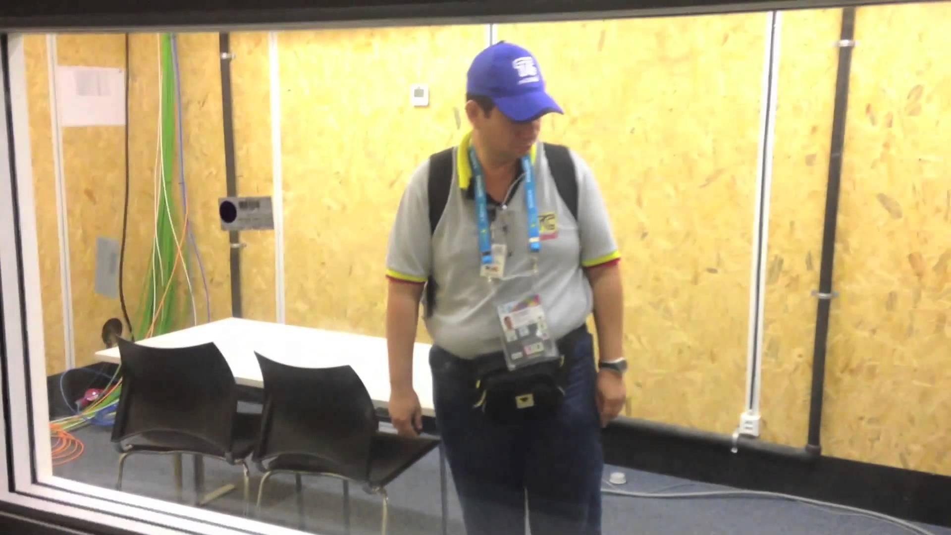 Llegada a Rio de Janeiro de equipo TC