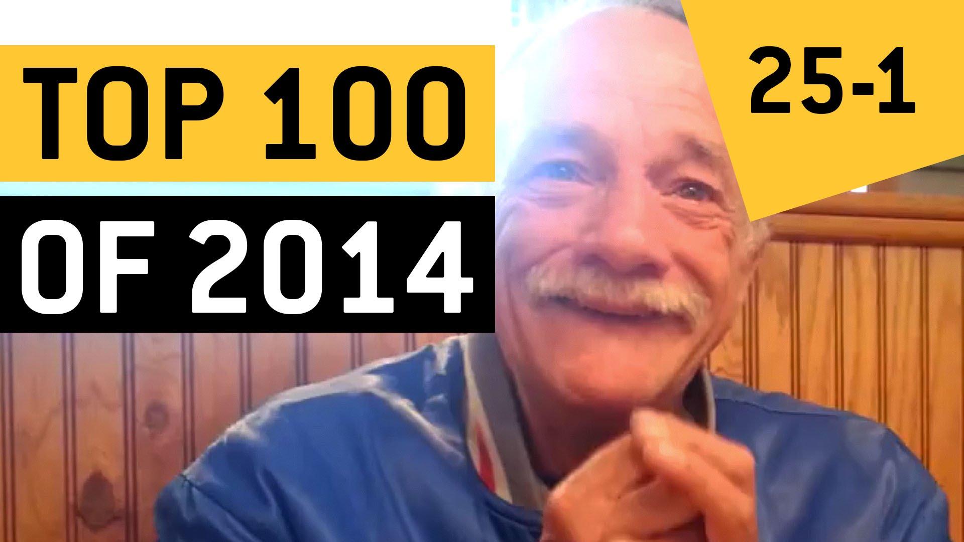 Los 25 video mas virales del 2014