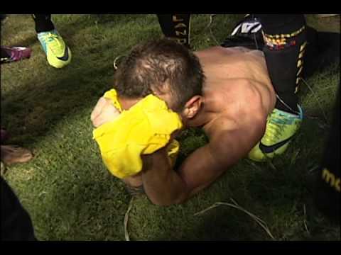 Tremenda celebracion de Damian Diaz