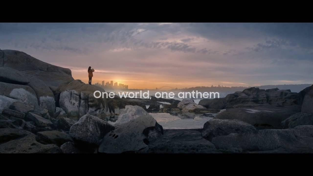 El himno, campaña de Juegos Olímpicos (video)