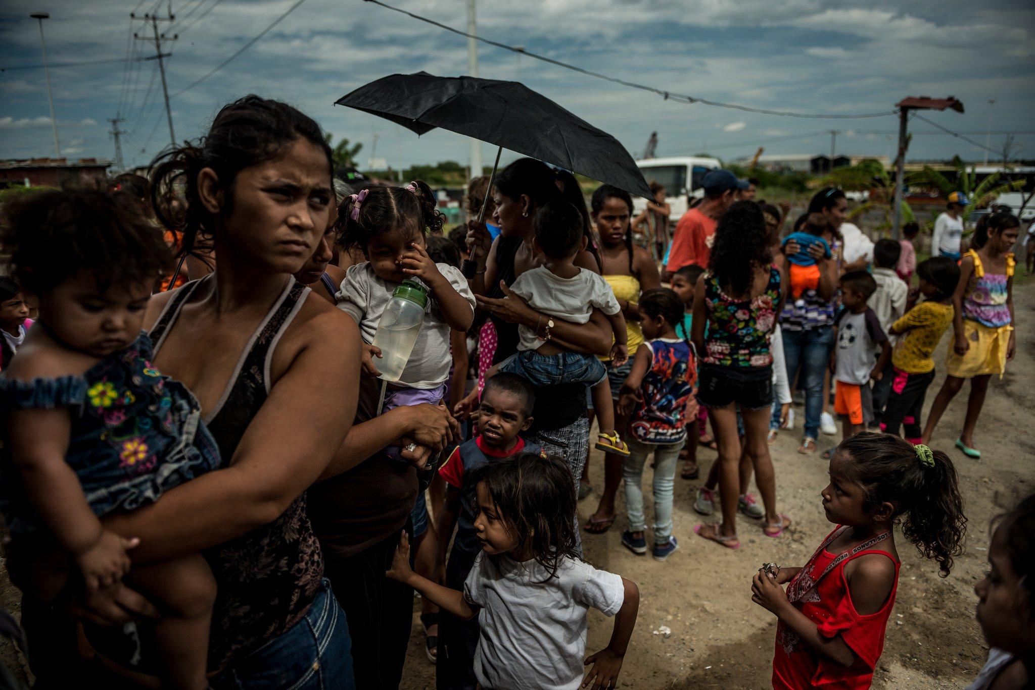Venezuela y la muerte de niños por hambre