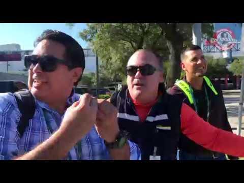 Los compadres en las calles de Houston