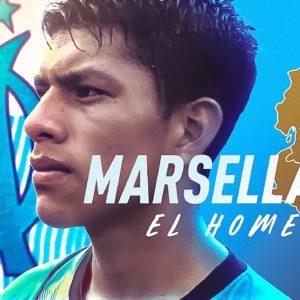 El Olympique de Marsella rindió tributo a equipo ecuatoriano